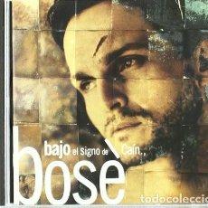 CDs de Música: MIGUEL BOSÉ - BAJO EL SIGNO DE CAÍN - CD. Lote 159364850
