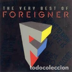 CDs de Música: FOREIGNER - THE VERY BEST OF FOREIGNER (CD, COMP) LABEL:ATLANTIC, ATLANTIC CAT#: 7567-80505-2 XV, 7. Lote 159408386