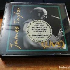 CDs de Música: JAMES TAYLOR LIVE GREATEST HITS DOBLE CD ALBUM DEL AÑO 1993 ESPAÑA CONTIENE 30 TEMAS 2 CD RARO. Lote 159428398
