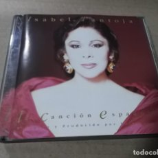 CDs de Música: ISABEL PANTOJA (CD) CANCION ESPAÑOLA AÑO 1990 – DOBLE CD. Lote 159430442