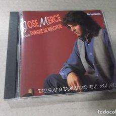 CDs de Música: JOSE MERCE (CD) DESNUDANDO EL ALMA AÑO 1994. Lote 159434842