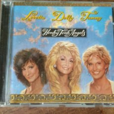 CDs de Música: DOLLY PARTON, TAMMY WYNETTE & LORETTA LYNN - HONKY TONK ANGELS - CD. Lote 159468378