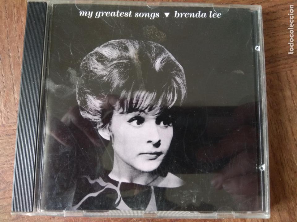 BRENDA LEE - MY GREATEST SONGS - CD (Música - CD's Country y Folk)
