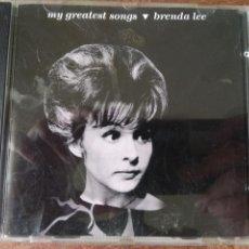 CDs de Música: BRENDA LEE - MY GREATEST SONGS - CD. Lote 159468538