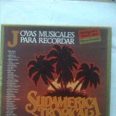 CDs de Música: SUDAMERICA TROPICAL JOYAS MUSICALES PARA RECORDAR 3 LPS. Lote 159487146