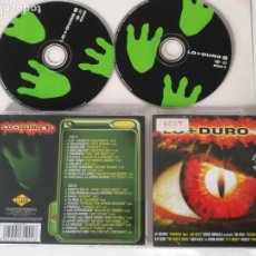 CDs de Música: CD DOBLE LO + MAS DURO 6 25 TEMAS. Lote 159490030