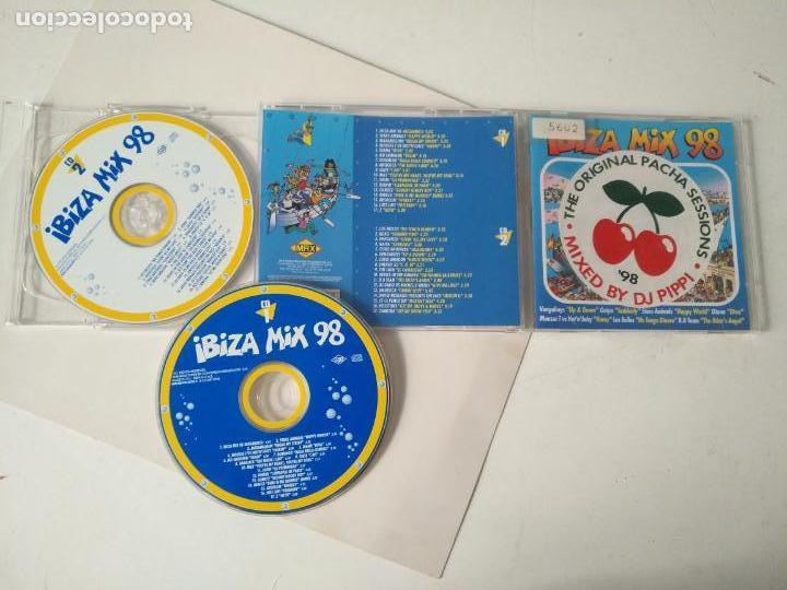 CD DOBLE IBIZA MIX 98 PACHA (Música - CD's Otros Estilos)