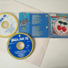CDs de Música: CD DOBLE IBIZA MIX 98 PACHA. Lote 159493790