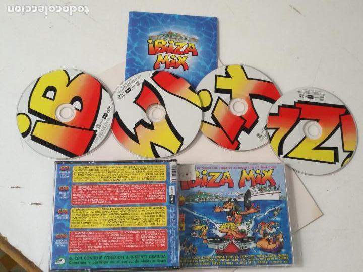 4 CDS IBIZA MIX (Música - CD's Otros Estilos)