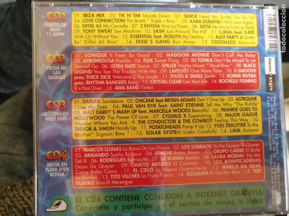 CDs de Música: 4 CDS IBIZA MIX - Foto 2 - 159494930
