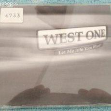 CDs de Música - cd single promocional de emisora de radio - single - west one - 159518234