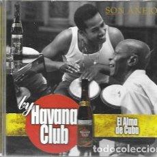CDs de Música: EL ALMA DE CUBA BY HAVANA CLUB. 2000 CRIM. Lote 159530046