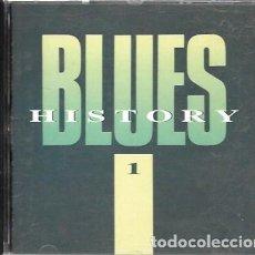 CDs de Música: BLUES HISTORY 1. 1989 DISKY. Lote 159530054