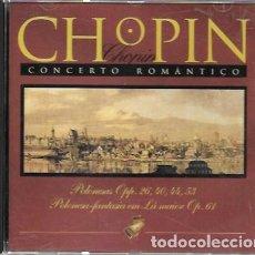 CDs de Música: CHOPIN. CONCERTO ROMÁNTICO. 1992 HNH INTERNATIONAL. Lote 159530086