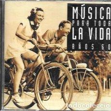 CDs de Música: MÚSICA PARA TODA LA VIDA. AÑOS 60. 1994 BMG ARIOLA. Lote 159530098