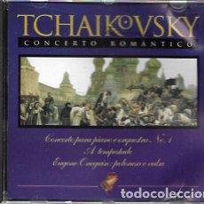 CDs de Música: TCHAIKOVSKY. CONCERTO ROMÁNTICO. 1988 PACIFIC. Lote 159530106