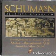 CDs de Música: SCHUMANN. CONCERTO ROMÁNTICO. 1985 PACIFIC. Lote 159530110