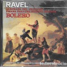 CDs de Música: RAVEL. BOLERO. 1989 DIAL DISCOS. Lote 159530122