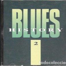 CDs de Música: BLUES HISTORY 2. 1989 DISKY. Lote 159530130