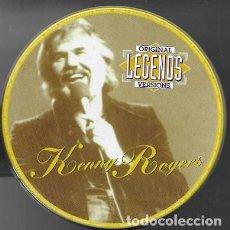 CDs de Música: ORIGINAL LEGENDS VERSION. KENNY ROGERS. 1996 MANDARIM RECORDS (LATA). Lote 159530142