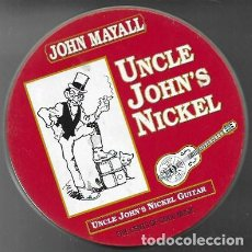 CDs de Música: JOHN MAYALL. UNCLE JOHN'S NICKEL. 1988 ENTENTE MUSIKORODUKTION (LATA). Lote 159530150