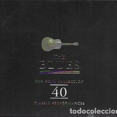 CDs de Música: THE BLUES. THE GOLD COLLECTION. 40 CLASSIC PERFORMANCES. 1997 (DOBLE CD). Lote 159530302