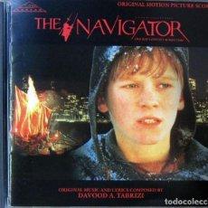 CDs de Música: THE NAVIGATOR, UNA ODISEA EN EL TIEMPO - DAVOOD A. TABRIZI - 1989. Lote 159571878