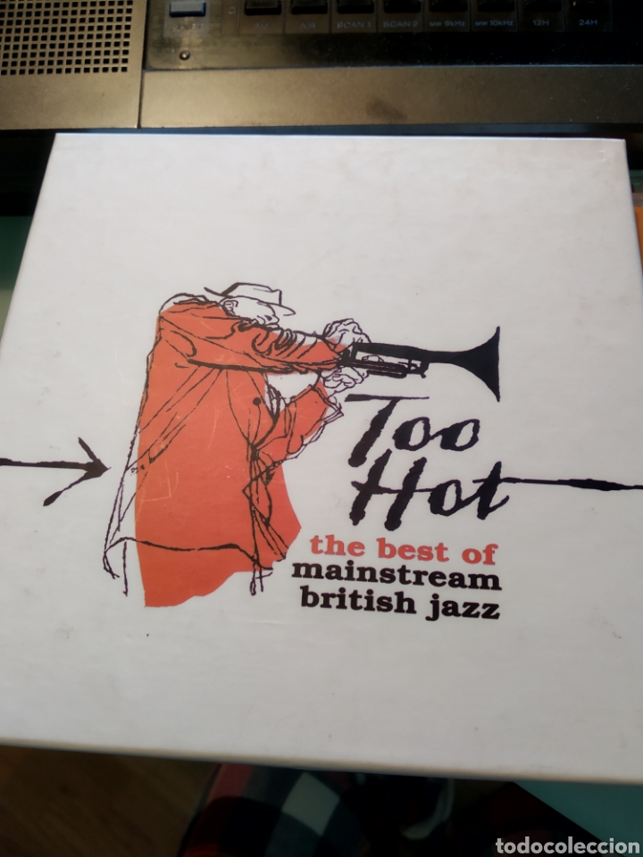 VARIOUS – TOO HOT: THE BEST OF MAINSTREAM BRITISH JAZZ (CAJA DE 3 CDS) (Música - CD's Jazz, Blues, Soul y Gospel)