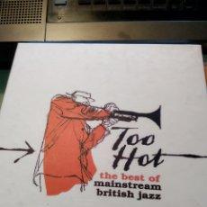 CDs de Música - Various – Too Hot: The Best Of Mainstream British Jazz (Caja de 3 CDs) - 159601322