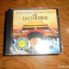 CDs de Música: THE LAST EMPEROR. B.S.O. VIRGIN, 1987. CD. IMPECABLE (#). Lote 159618638