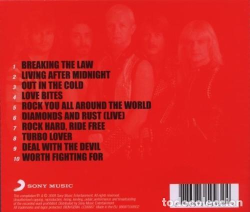 CDs de Música: Judas Priest - The Collection - CD - Foto 2 - 159645714