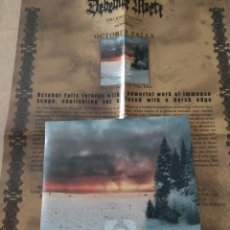 CDs de Música: OCTOBER FALLS THE STREAMS OF THE END CD PROMO. Lote 159662150