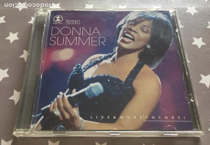 DONNA SUMMER LIVE & MORE ENCORE (Música - CD's Jazz, Blues, Soul y Gospel)