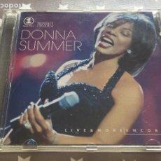 CDs de Música: DONNA SUMMER LIVE & MORE ENCORE. Lote 159759434