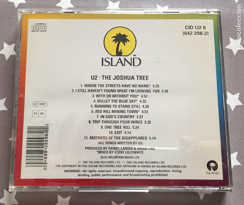 CDs de Música: U2 THE JOSHUA TREE, Cd - Foto 2 - 159759734