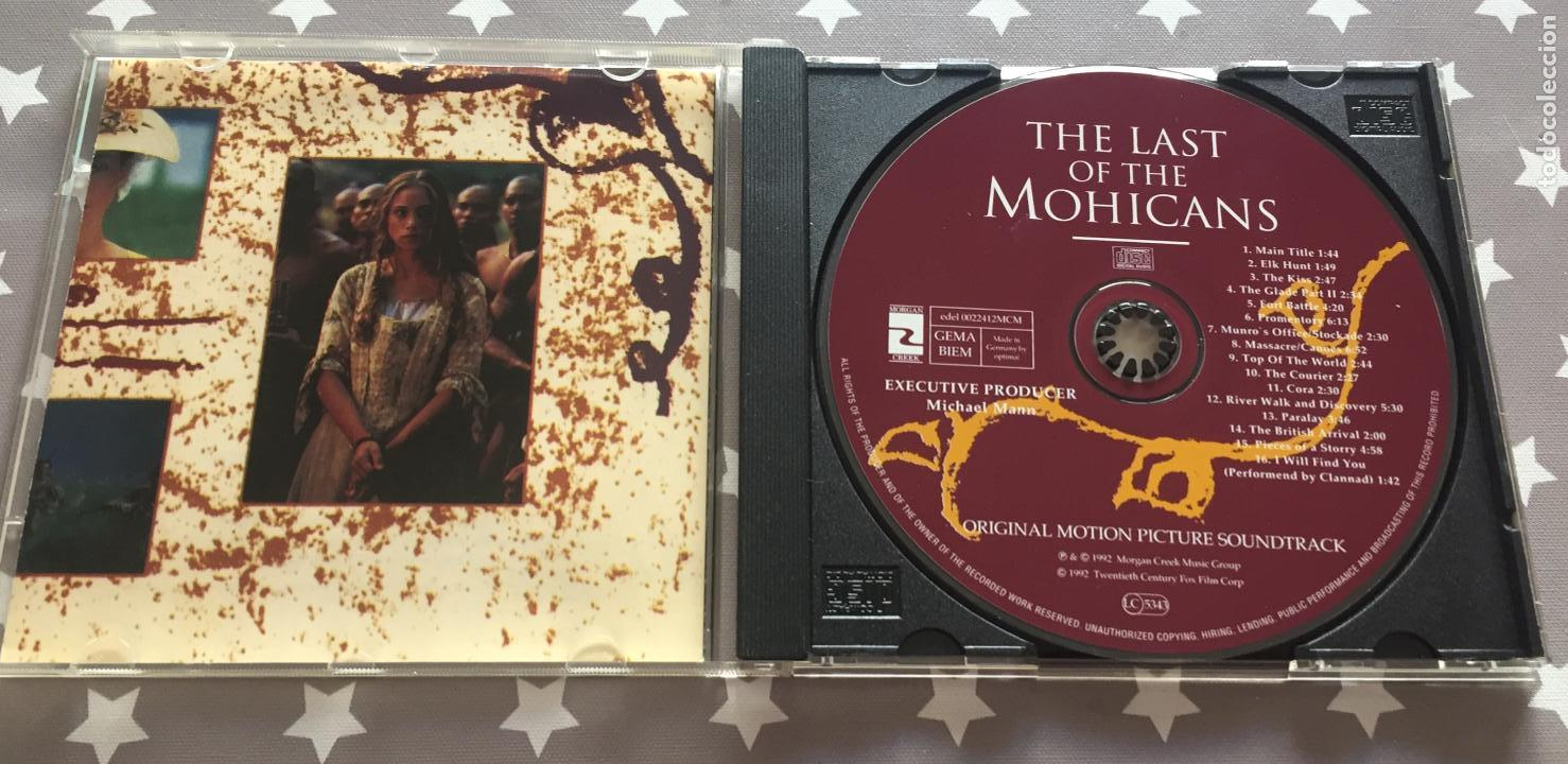 CDs de Música: THE LAST OF THE MOHICANS, El ulitimo mohicano - Foto 3 - 159760726