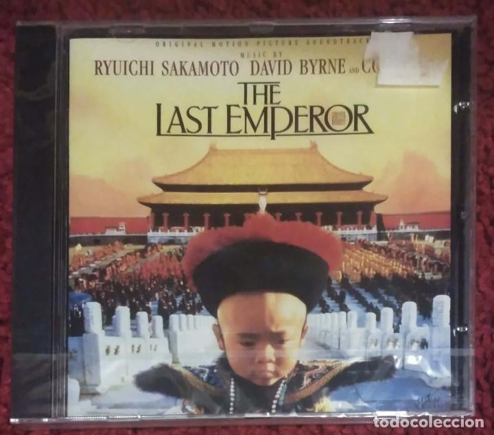 B.S.O. EL ULTIMO EMPERADOR (THE LAST EMPEROR) CD 1987 * PRECINTADO (Música - CD's Bandas Sonoras)
