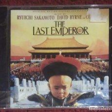 CDs de Música: B.S.O. EL ULTIMO EMPERADOR (THE LAST EMPEROR) CD 1987 * PRECINTADO. Lote 159763118