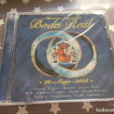 CDs de Música: MUSICA PARA LA BODA REAL, NUEVO. Lote 159765150