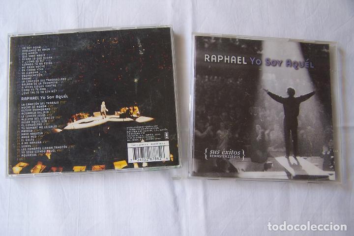CDs de Música: DOBLE CD RAPHAEL. YO SOY AQUÉL. SUS ÉXITOS REMASTERIZADOS. - Foto 2 - 206167340