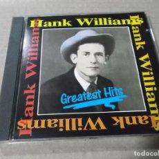 CDs de Música: HANK WILLIAMS (CD) GREATEST HITS AÑO 1989. Lote 159769574