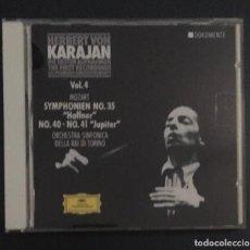 CDs de Música: KARAJAN - THE FIRST RECORDINGS - MOZART . Lote 159799738