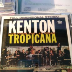 CDs de Música: STAN KENTON ‎– KENTON LIVE FROM THE LAS VEGAS TROPICANA. Lote 159822046