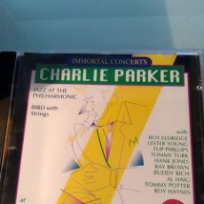 CDs de Música: CHARLIE PARKER – AT CARNEGIE HALL 1949-1950. Lote 159822198
