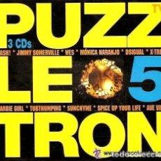 CDs de Música - PUZZLETRON 5 - BOY RECORDS (SPAIN) BOY CD 050 - 3 X CD - SPAIN 1997 - 159868754