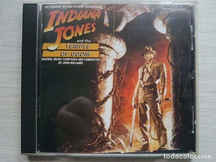 INDIANA JONES AND THE TEMPLE OF DOOM - JOHN WILLIAMS CD B.S.O. - JAPAN (Música - CD's Bandas Sonoras)