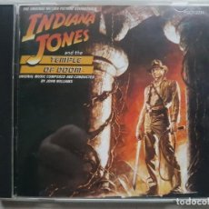 CDs de Música: INDIANA JONES AND THE TEMPLE OF DOOM - JOHN WILLIAMS CD B.S.O. - JAPAN. Lote 159886266