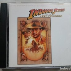 CDs de Música: INDIANA JONES AND THE LAST CRUSADE - JOHN WILLIAMS CD B.S.O.. Lote 159886670