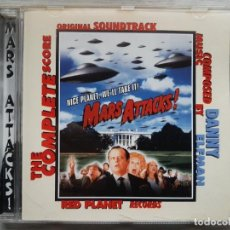 CDs de Música: MARS ATTACKS - DANNY ELFMAN - CD - B.S.O. RARO. Lote 159889398