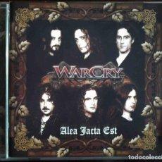 CDs de Música: CD WARCRY - ALEA JACTA EST - FIRMADO. Lote 159893166